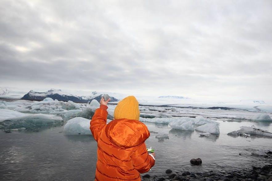 A Winter Drive to Jökulsárlón Glacier Lagoon