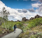 Hike through the strange lava labyrinth of Dimmuborgir on your Mývatn tour.