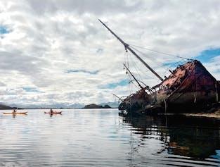 Kajaki na morzu | Start na półwyspie Snaefellsnes