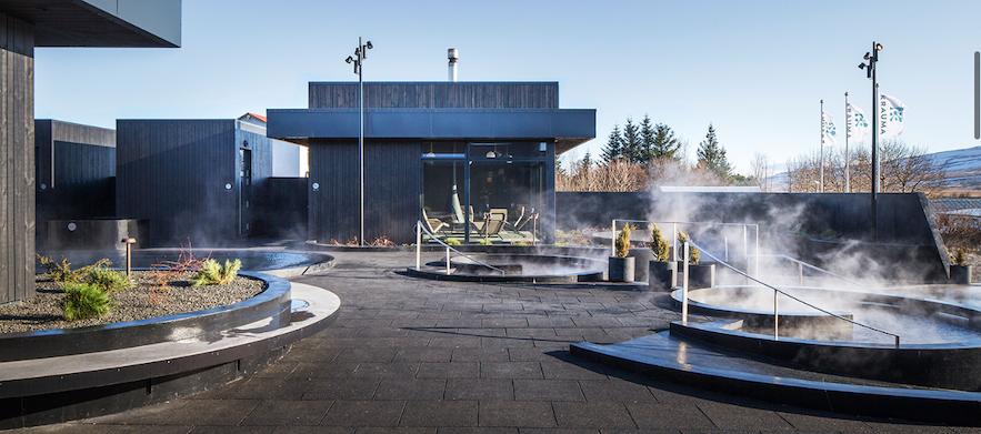 2017年にオープンしたアイスランド西部のクロイマ・スパ
