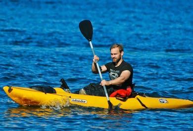 Kayaks Under Mt. Kirkjufell | Snaefellsnes Day Tour