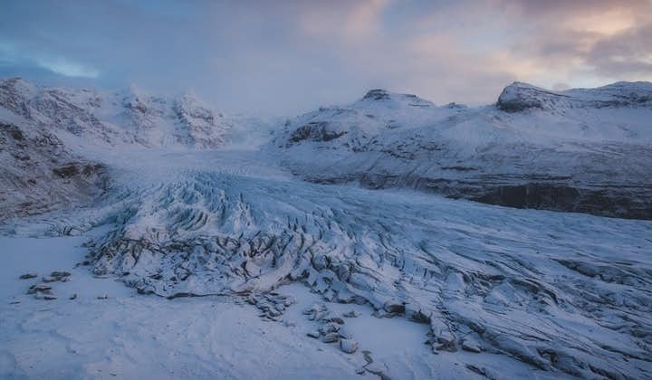 自驾冰岛特色旅行团优惠套票 火山内部遨游+索尔黑马冰川徒步+浮潜