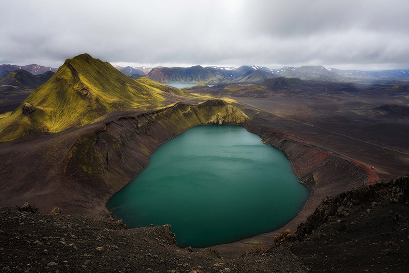 The Icelandic Highlands is one of the most eclectic places in Iceland.