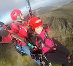 Take to the skies with a paragliding tour.