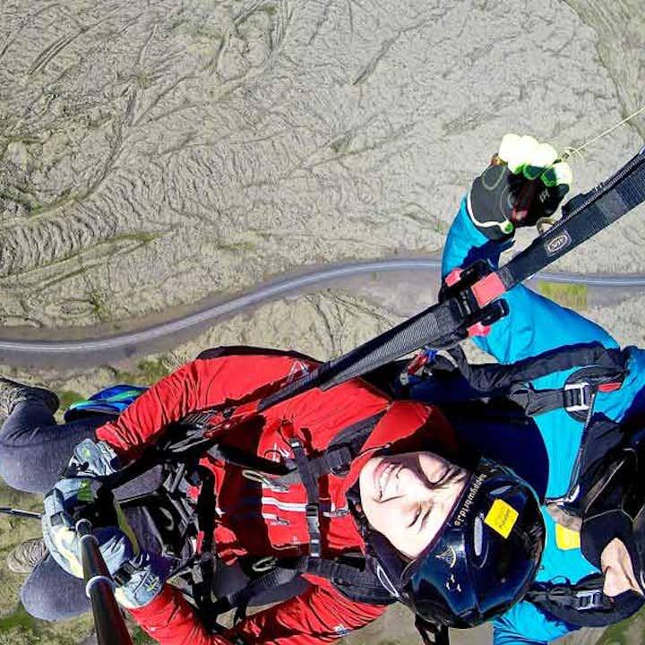 雷克雅未克地区滑翔伞旅行团