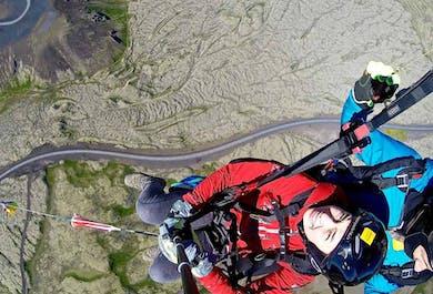 Aventure en parapente | Envolez-vous au-dessus de Reykjavík