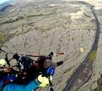 首都圏の遊覧飛行を楽しむパラグライダー体験