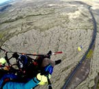 Take a paragliding tour and fly over the greater Reykjavík area.