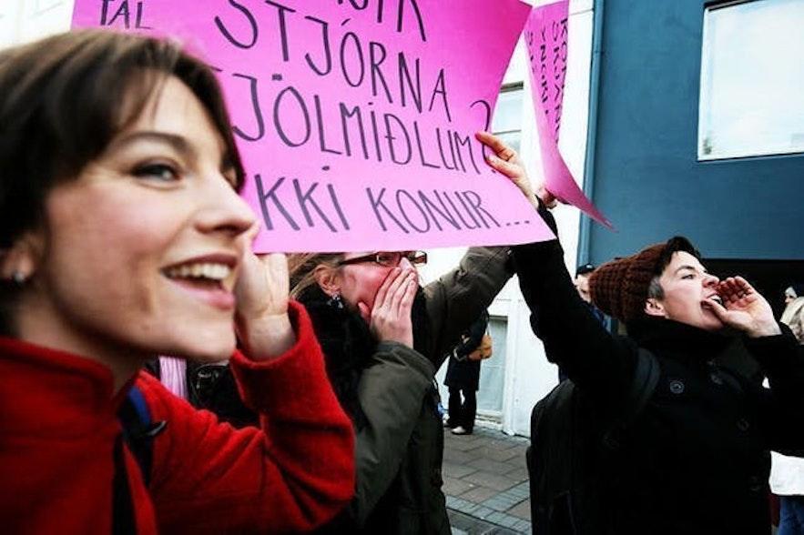 冰島女性遊行