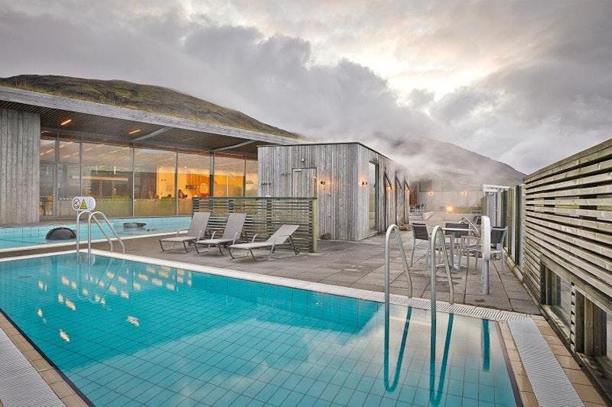 De sauna van Fontana Spa is gebouwd op een natuurlijke warme bron!