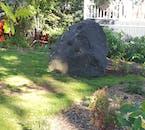 The legendary elfstone of Iceland.