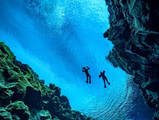 Snorkel between Continents in Silfra Fissure | Free Photos