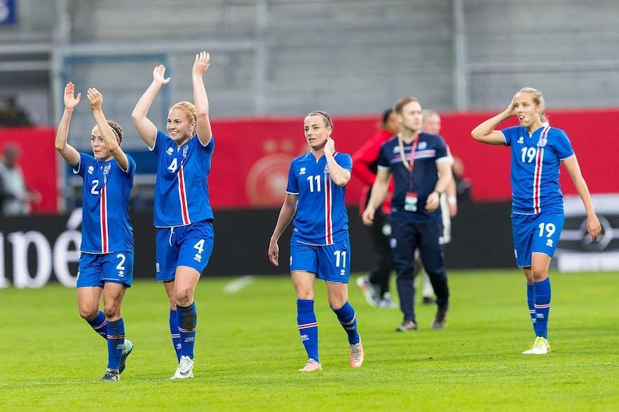 越来越多的冰岛人开始关注女子运动项目