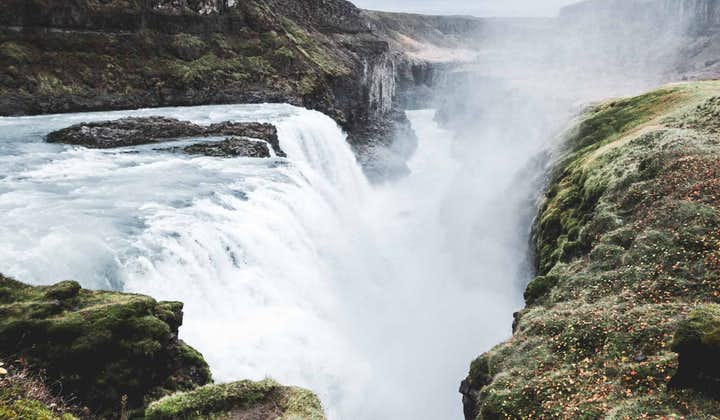 Gullfoss waterfall can be shot from many different angles.