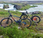 Hop on a bike and discover the incredible scenery just outside of Húsavík town in North Iceland.