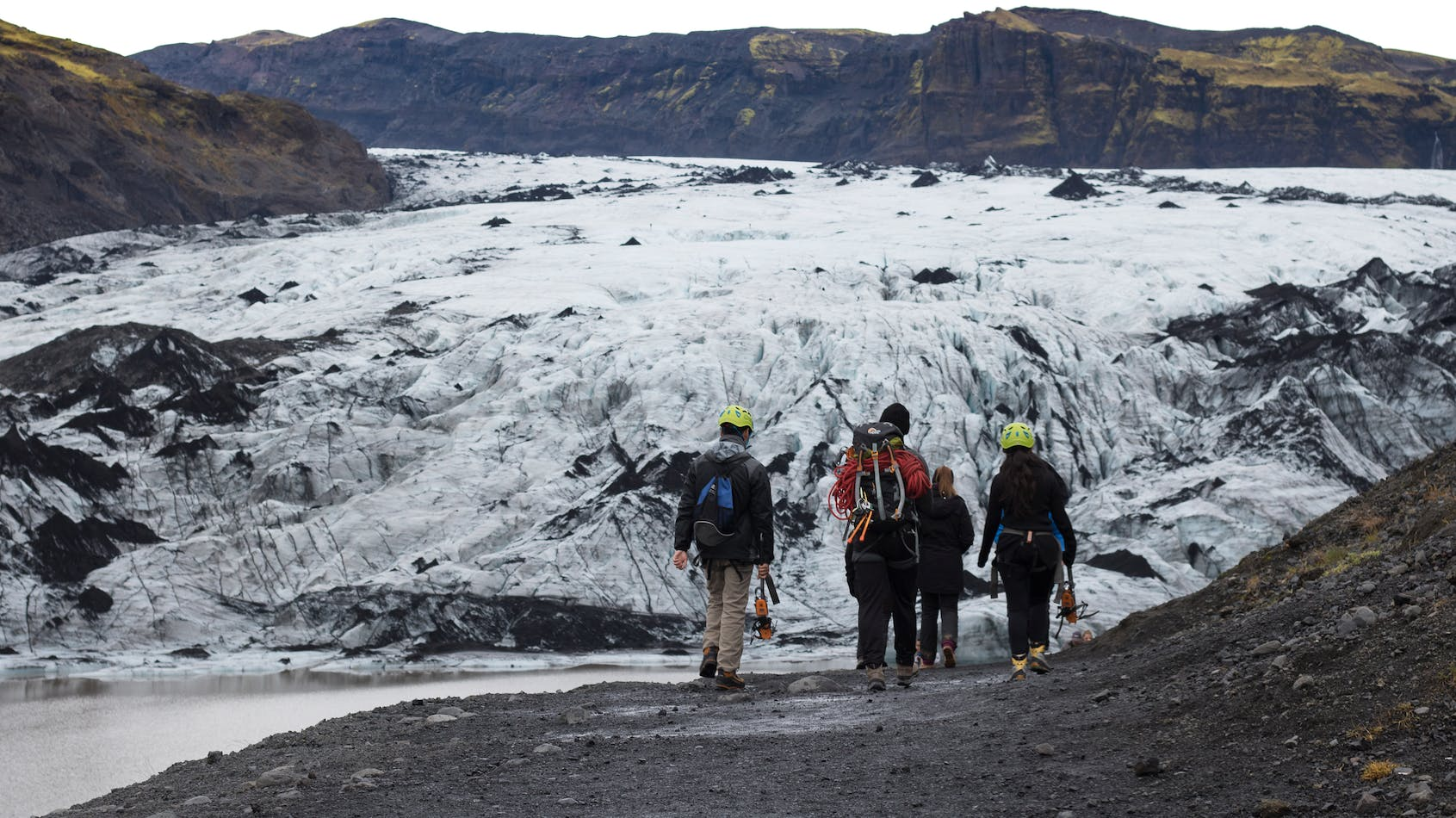3 in 1 Bundle Discount Activity Tours | Ice on Ice with 2 Glacier Hikes & Blue Ice Cave - day 1