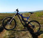 Hop on a bike and cycle through the beautiful Icelandic nature on a mountain bike tour.