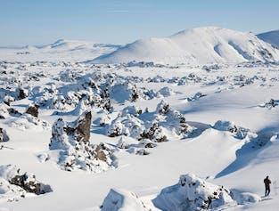 2-tägige Landmannalaugar Winter-Tour | Übernachtung im Hochland