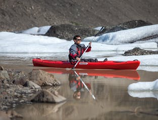 Glacier Walk and Kayaking