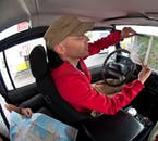 You will be accompanied by an experienced driver/guide.