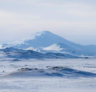 3-tägige Winter-Tour | Hochland, Golden Circle, Südküste, Gletscherwanderung & Eishöhle