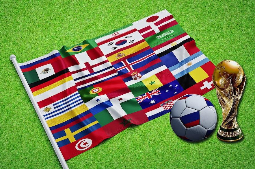 Island war das kleinste Land, das jemals an einer FIFA Fußball-WM teilnahm.
