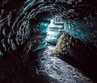 Grotte de glace Katla au glacier Myrdalsjökull | Départ de Vik