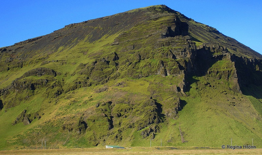 Pétursey in South-Iceland