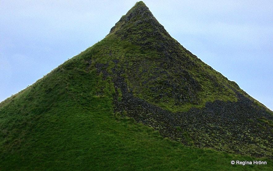 Pétursey in South-Iceland - Eyjarhóll