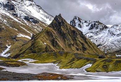 Południowe wybrzeże i jaskinia lodowa nad wulkanem Katla | Wycieczka z Reykjaviku