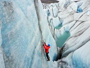 Escalada en el hielo de Skaftafell