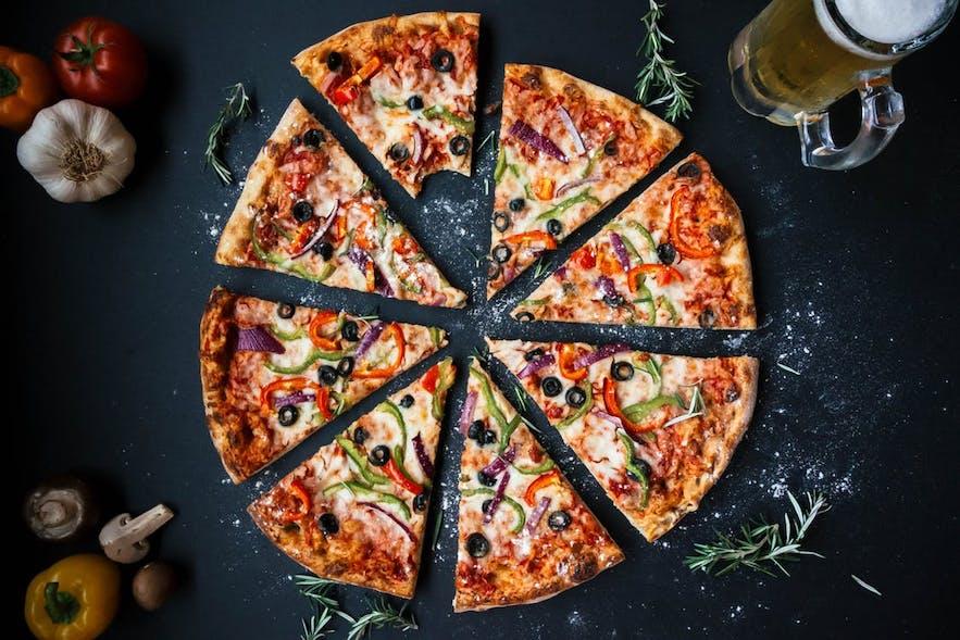 Pretty pizza