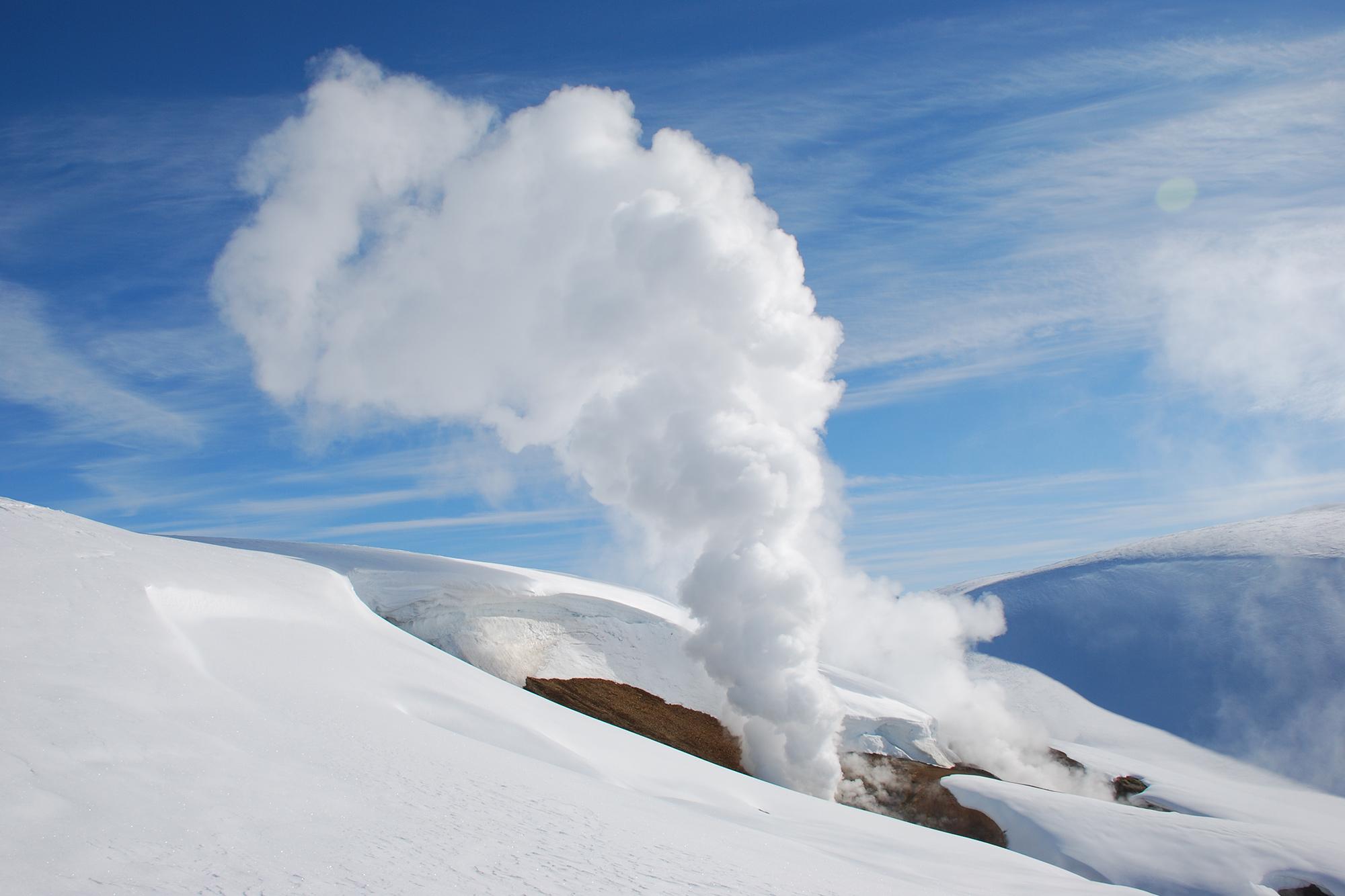 冬のランドマンナロイガルの風景