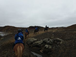 1-Hour Riding Tour in Reykjavik | The Red Lava Hills, Raudholar