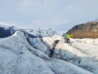 South Coast & Glacier Hiking on Solheimajokull from Reykjavik