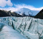 There are several glaciers to hike in the Skaftafell Nature Reserve.
