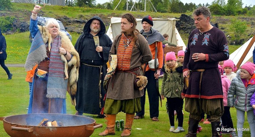 The Viking club Rimmugýgur in Iceland