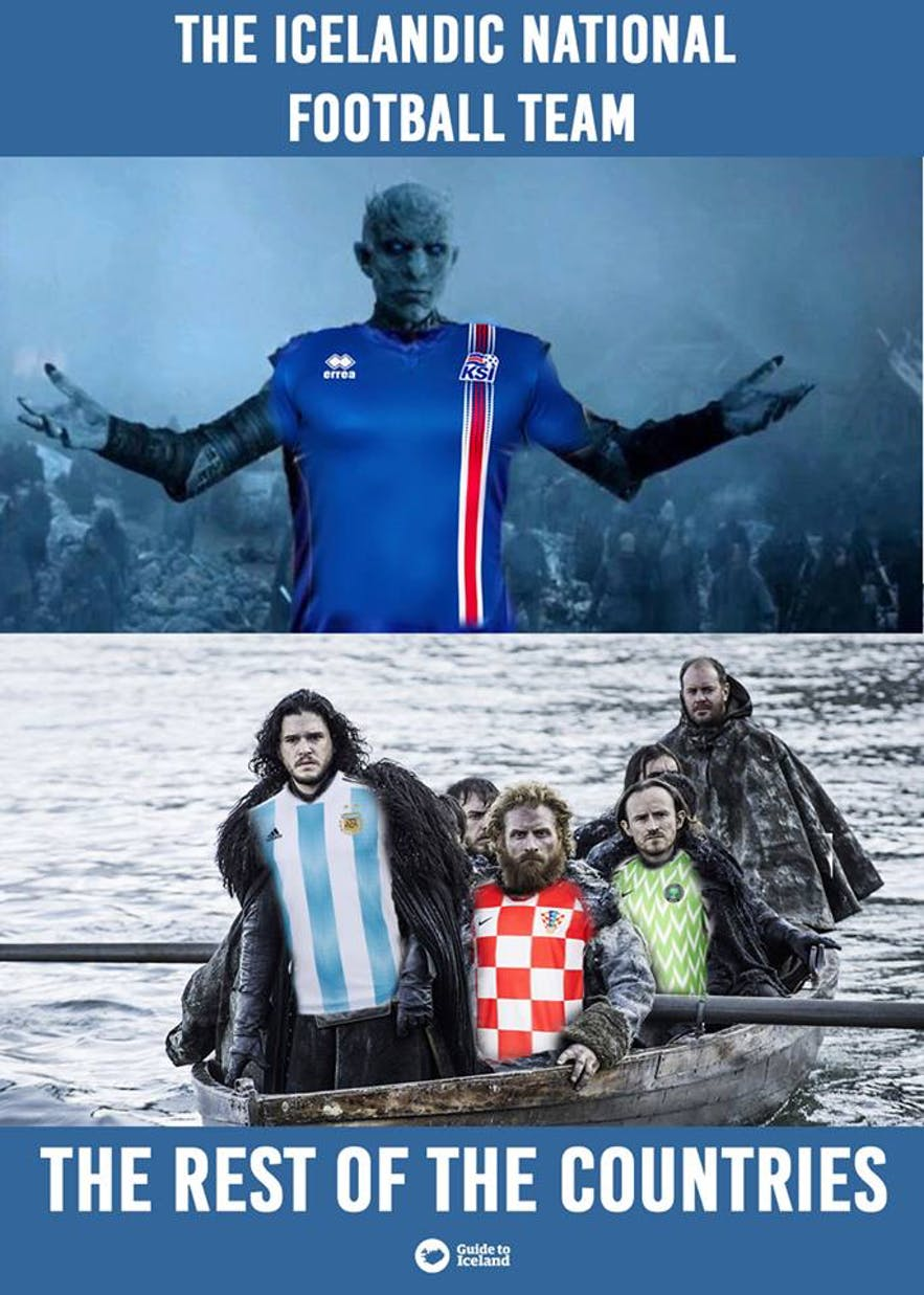 Iceland entered 2018 World Cup with fury