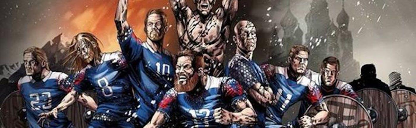Icelandic Viking football heroes ready for battle!