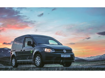 Volkswagen Caddy Camper w/heater 2017 - 2018