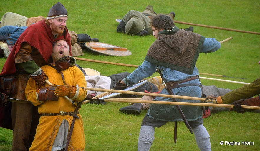 The annual Viking festival in Hafnarfjörður
