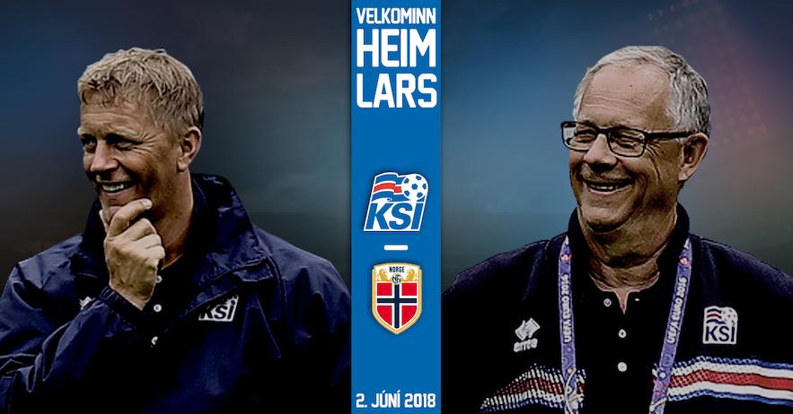冰岛足球队教练拉格贝克与哈尔格里姆松