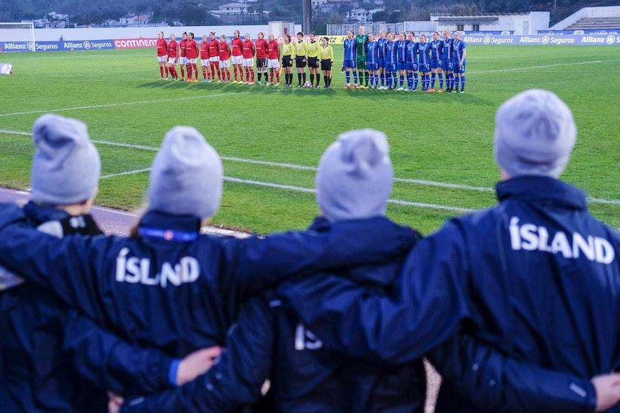 足球在冰岛是一项全民运动