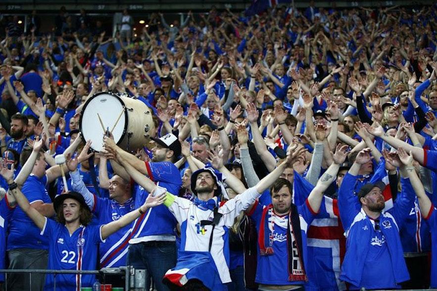 冰岛的维京战吼