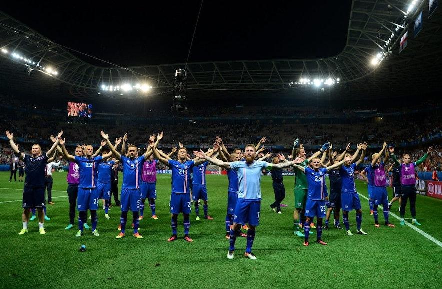 2016年欧洲杯,冰岛挺进八强