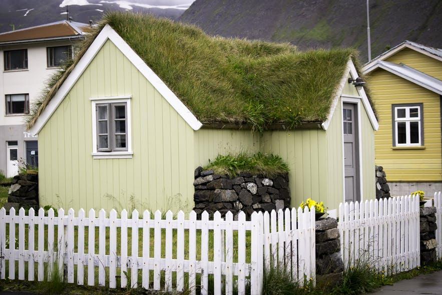 Icelandic homes come in all shapes and sizes, from quirky and tradition to new, contemporary abodes.