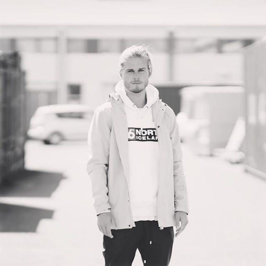 Icelandic Rúrik Gíslason is both a football player and a model
