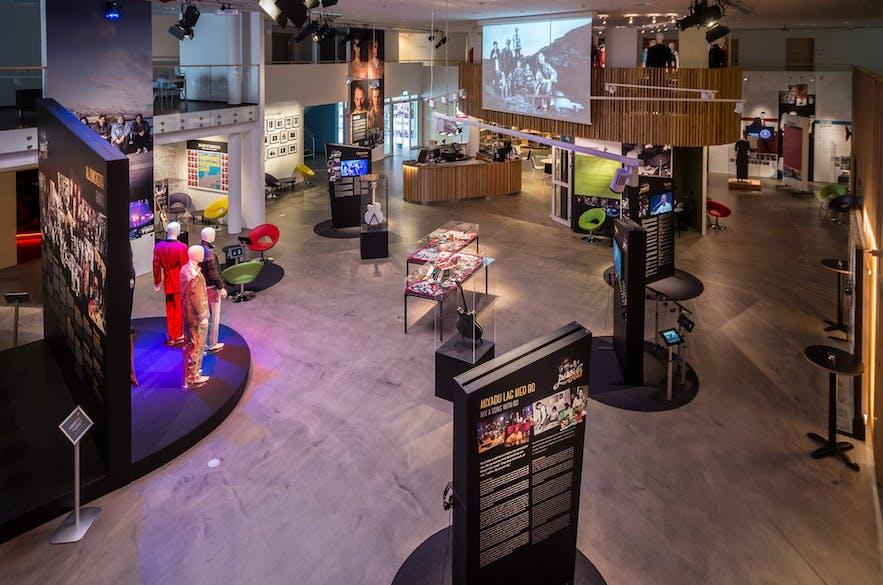아이슬란드 록 박물관의 모습