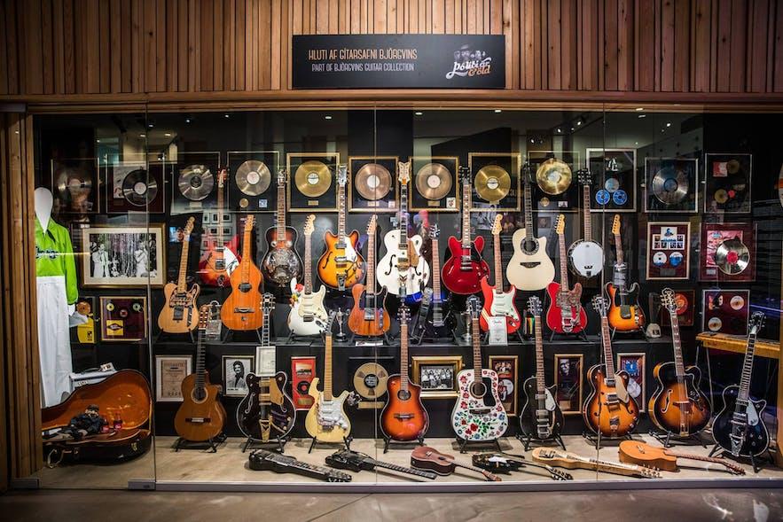 아이슬란드 음악 박물관 락앤롤 전시관