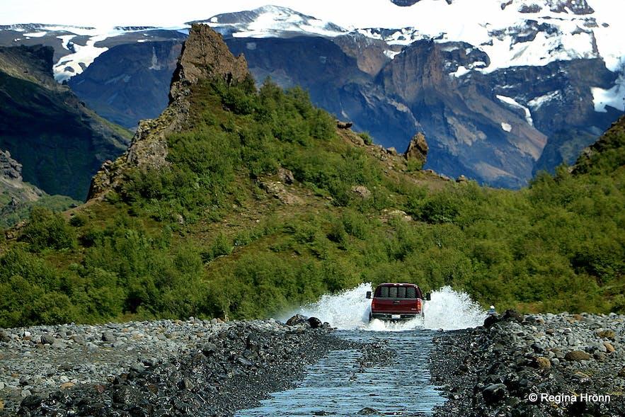 Þórsmörk nature reserve South-iceland
